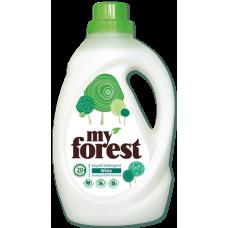 Май Форест течен перилен препарат за бели тъкани 1,3 литра 20 пранета