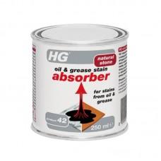 HG Абсорбиращ препарат за грес и масло от естествен камък 250милилитра