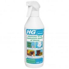 HG Отстраняване на неприятни миризми от повърхности 500мл