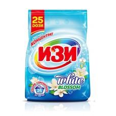 Изи прах за 25 пранета 1000 грама бял цвят