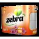 Зебра софт тоалетна хартия ароматизирана 4 пласта 4 рула