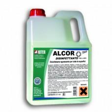 Алкор дезинфектант обезмаслител 3 литра
