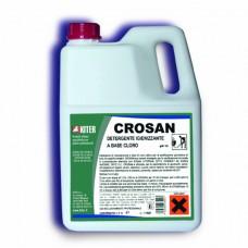 Кросан дезинфектант на хлорна основа за ежедневно почистване TDS 3 литра