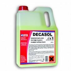 DECASOL Киселинен разтворител за основно почистване 3 литра