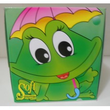 Салфетки за лице меки 100 броя кутия Жаба